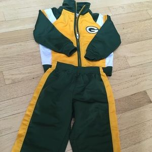 Other - Green Bay Packers track suit 2T